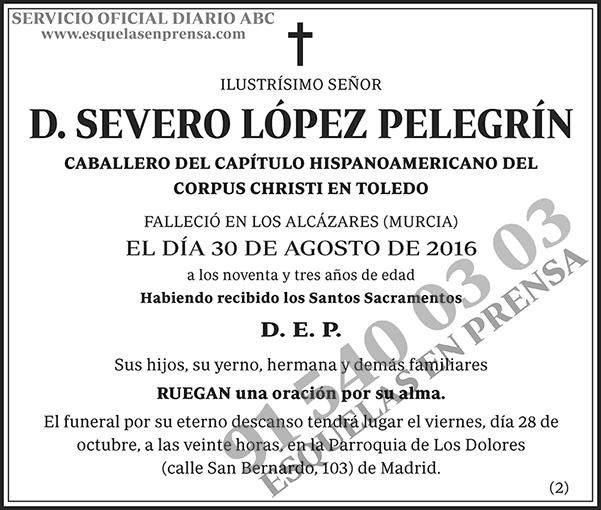 Severo López Pelegrín